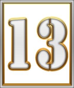 13 Mėnesio diena