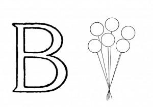Raidė B- balionai