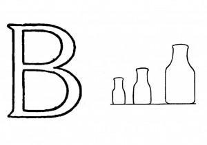 Raidė B-buteliai