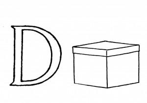 Raidė D- dėžė