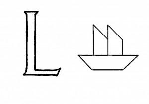 Raidė L-Laivas
