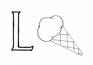 Raidė L - Ledai