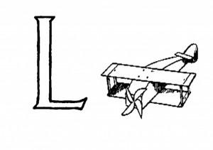 Raidė L- Lėktuvėlis