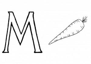 Raidė M- Morka
