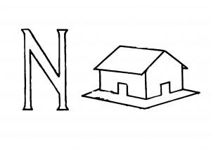 Raidė N- Namas