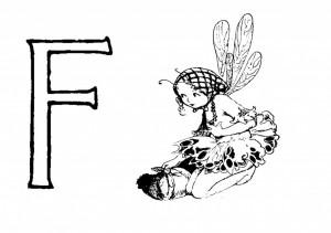Raidė F-Fėja