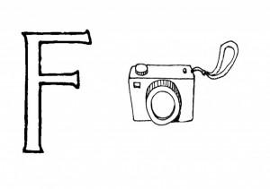 Raidė F-Fotoaparatas