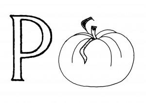 Raidė P- Pomidoras