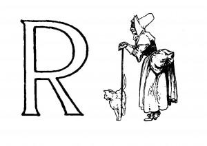 Raidė R- Ragana