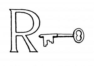 Raidė R- Raktas