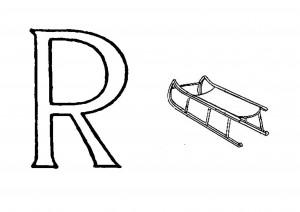 Raidė R - Rogės