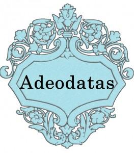 Vardas Adeodatas