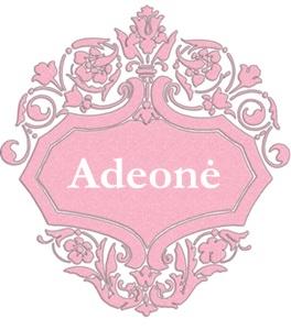 Adeonė