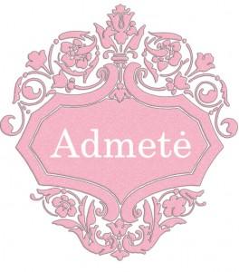 Vardas Admetė