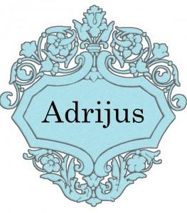 Vardas Adrijus
