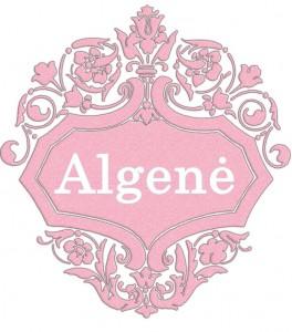 Vardas Algenė