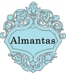 Vardas Almantas