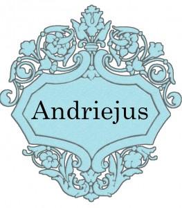 Vardas Andriejus