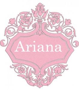 Vardas Ariana