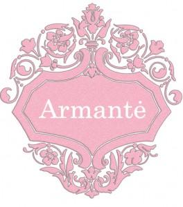 Vardas Armantė