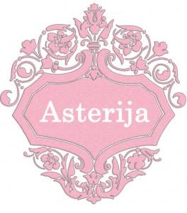 Vardas Asterija