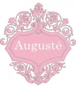 Vardas Augustė