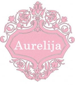 Vardas Aurelija