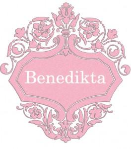 Vardas Benedikta