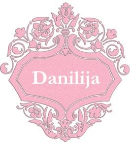Danilija