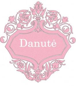 Vardas Danutė
