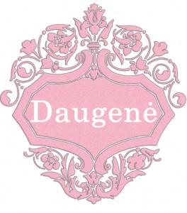 Vardas Daugenė