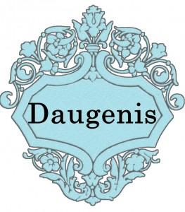 Vardas Daugenis