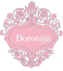 Vardas Dorotėja