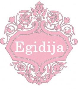Vardas Egidija