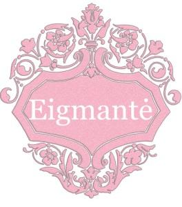 Eigmantė