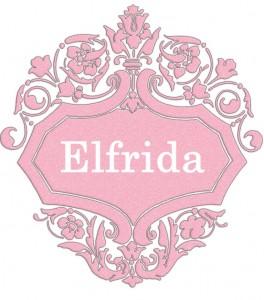 Vardas Elfrida