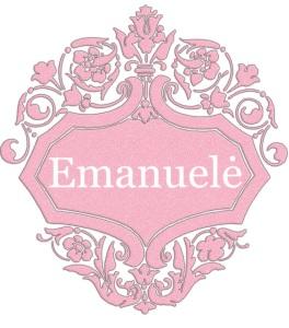 Emanuelė