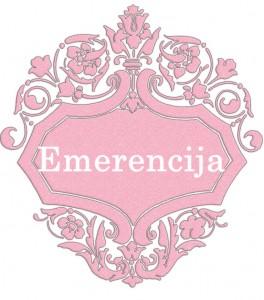 Vardas Emerencija