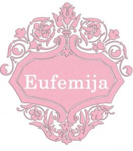 Vardas Eufemija
