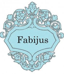 Vardas Fabijus
