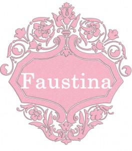 Vardas Faustina