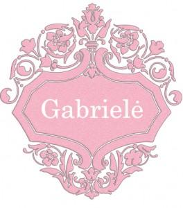 Vardas Gabrielė