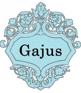 Vardas Gajus