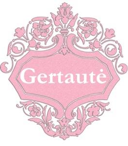 Gertautė