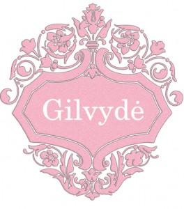 Vardas Gilvydė