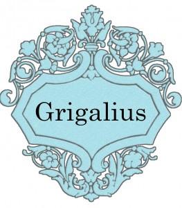 Vardas Grigalius