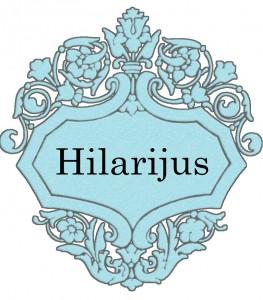 Vardas Hilarijus