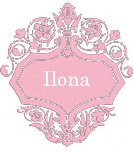 Vardas Ilona