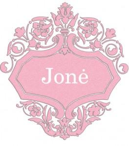 Vardas Jonė
