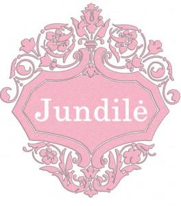 Vardas Jundilė